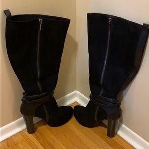 Torrid Wide Calf High Heel Knee Boot